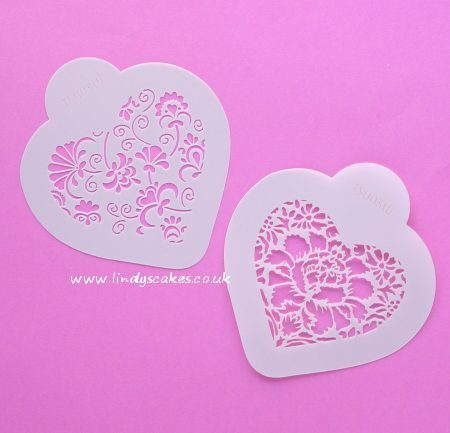 Hearts - Winterthur Heart Stencils (CS003W)