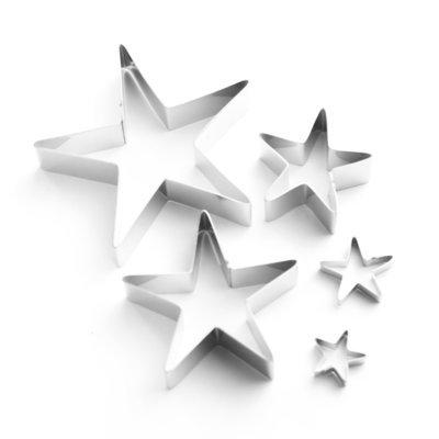 Stylish Star Sugarcraft Cutter Set (Lindy's)