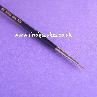 Pure Sable Artists Pencil Paintbrush No 0000