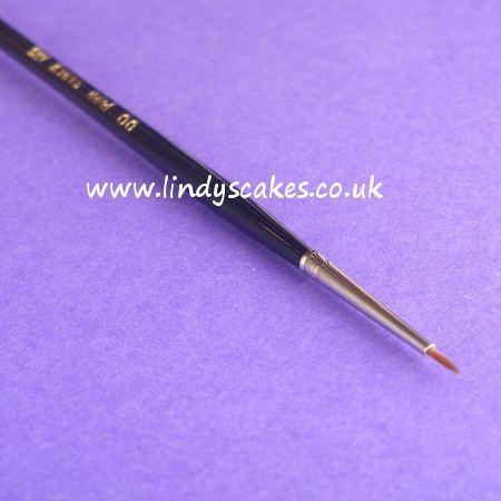 Pure Sable Artists Pencil Paintbrush No 00 SKU1778711