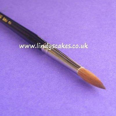 Pure Sable Artists Pencil Paintbrush No 8