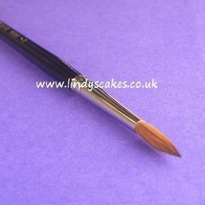 Pure Sable Artists Pencil Paintbrush No 7