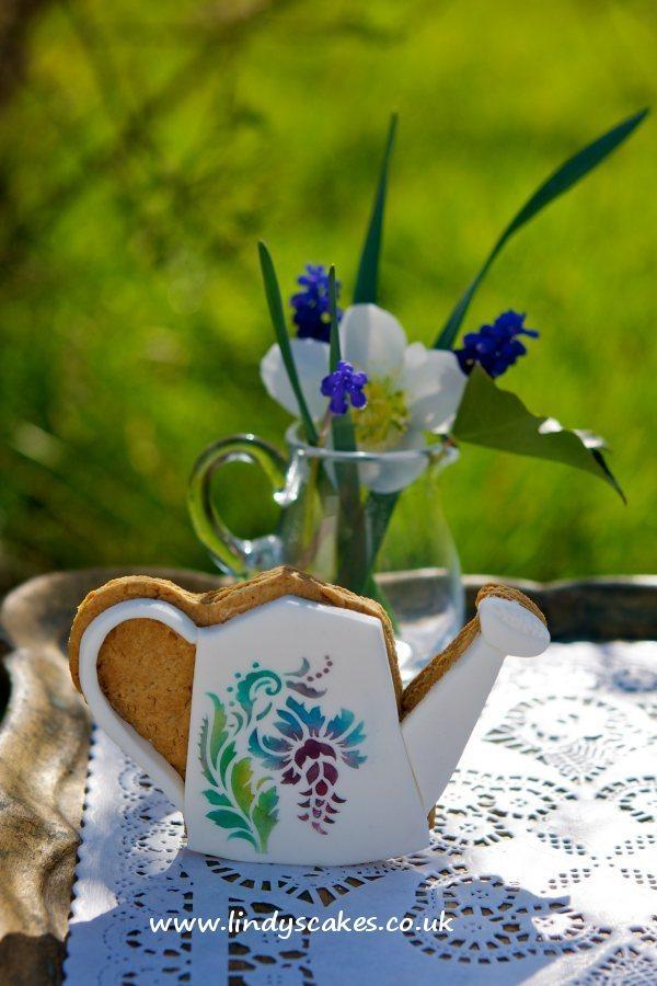 Floral Cupcake Top Stencils