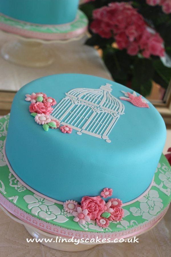 Cake Top Stencil