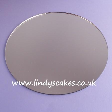 20cm (8in) Round Acrylic Mirror Cake Board SKU1754224561