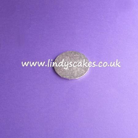 5cm (2in) Round Thin (3mm) Hardboard Cake Board SKU1771915