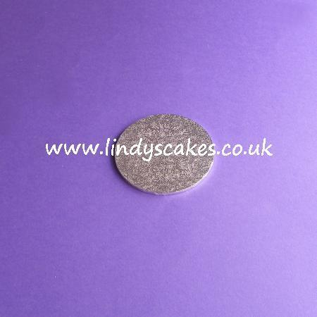 7.5cm (3in) Round Thin (3mm) Hardboard Cake Board SKU177191511
