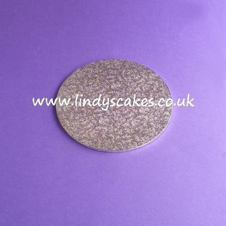 15cm (6in) Round Thin (3mm) Hardboard Cake Board