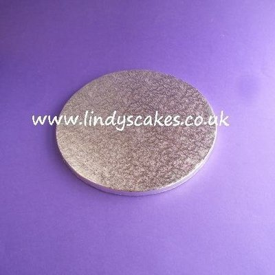 20cm (8in) Round Double Sided 12mm Thick Cake Board (Cake Drum)