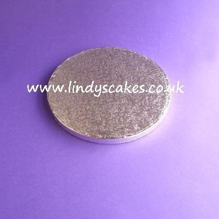 18cm (7in) Round Double Sided 12mm Thick Cake Board (Cake Drum)