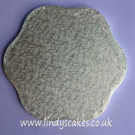 30.5cm (12in) Petal 12mm Thick Cake Board (Cake Drum) SKU17722111211115