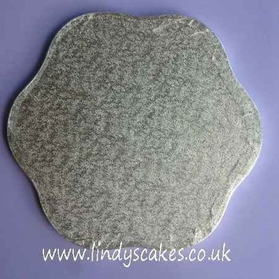 30.5cm (12in) Petal 12mm Thick Cake Board (Cake Drum)