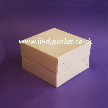 Cake Box 23.5cm x 23.5cm x 15cm (9in x 9in x 6in) SKU1755971