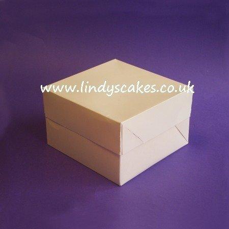 Cake Box 23.5cm x 23.5cm x 15cm (9in x 9in x 6in)
