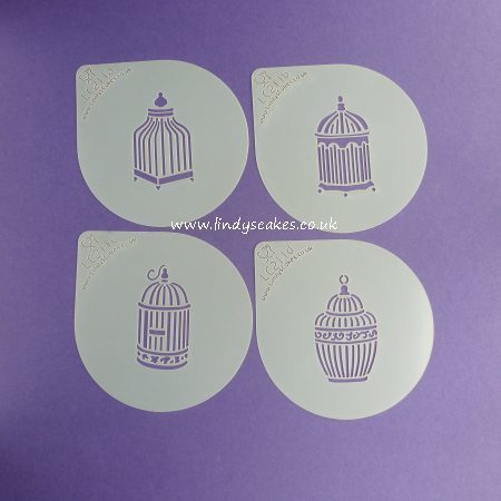 Birdcage Couture Cupcake Top Stencil Set - Lindy's (LC211) SKU180401