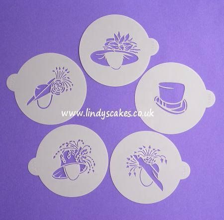 Fancy Wedding Hat Stencils - Lindy's (LC111) SKU18011