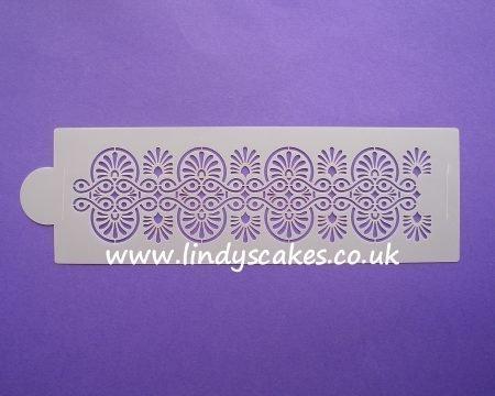 Greek Repeat Pattern Stencil - Lindy's  (LC102)