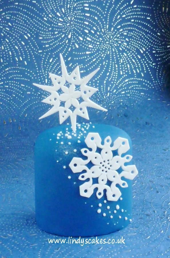 Snowflake - Intricate Snowflake Sugarcraft Cutter (Lindy's)