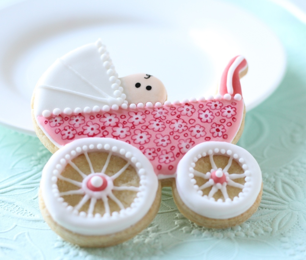 Baby Pram Cookie Cutter (Lindy's)