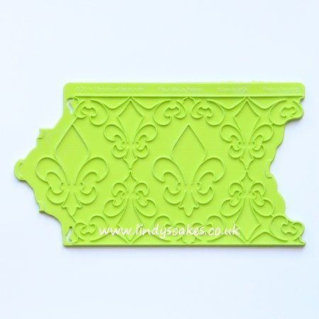 Fleur-de-lis Pattern Onlay (Marvelous Molds) SKU188071221111111311131