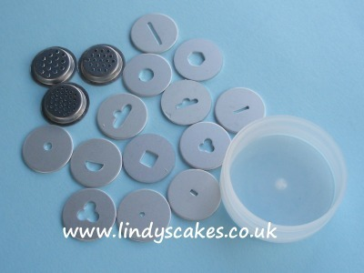 Sugar Shaper Replacement Discs SKU17776