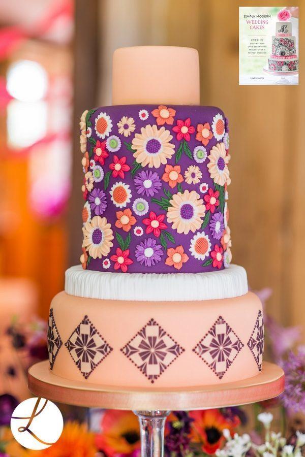 Retro Circle Stencil for Cake Decorating