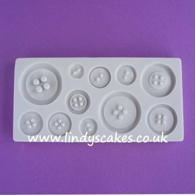 Button Mould - Plain Set (AM087)