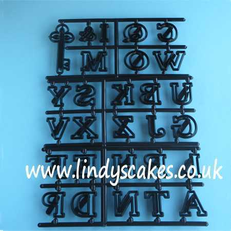 Alphabet and Key Easy Twist Set - large (Patchwork Cutters) SKU1878111