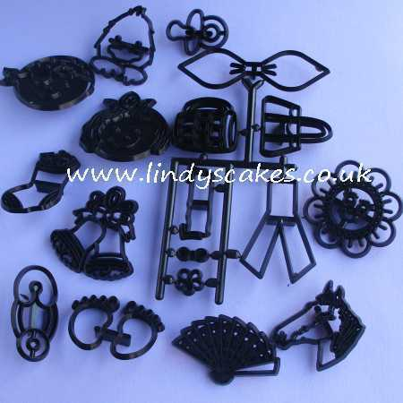 Mini Set of Cutters and Embossers (Patchwork Cutters) SKU176381