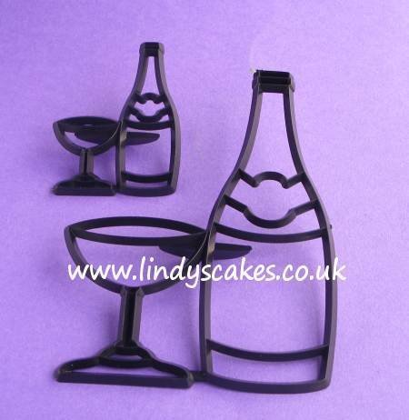 Bottle and Glass Cutter and Embosser Set (Patchwork Cutters)