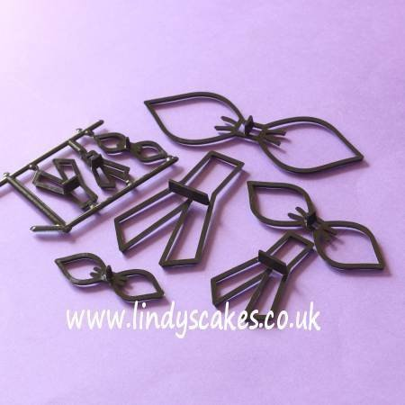 Bow - Make a 3D Bow - 4 Assorted Sizes (Patchwork Cutters)