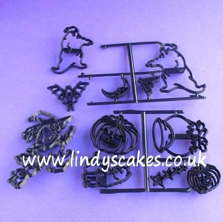 Halloween Cutter and Embossing Set (Patchwork Cutters)