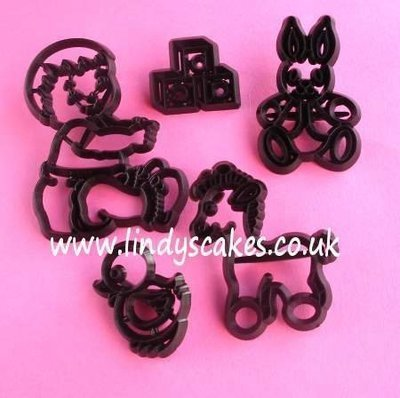 Nursery Cutter and Embossing Set (Patchwork Cutters)