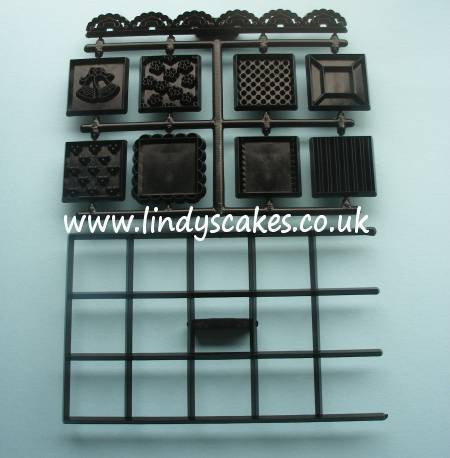Patchwork Squares Cutter and Embossing Set (Patchwork Cutters) SKU17722