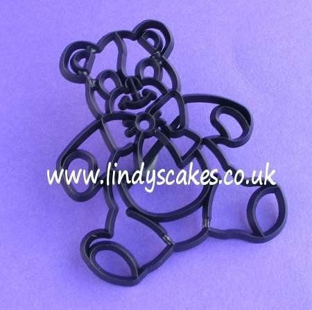 Teddy Cutter and Embossing Set (Patchwork Cutters)