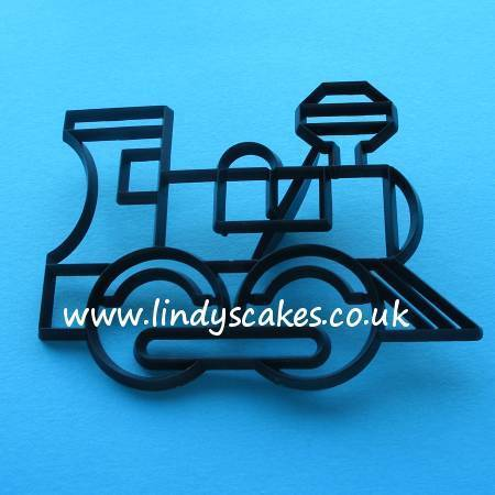 Train Cutter and Embossing Set (Patchwork Cutters) SKU17905