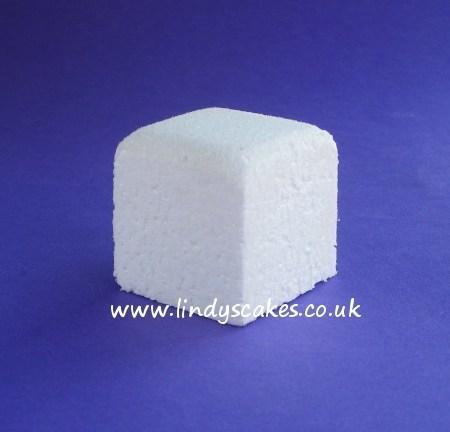 5cm (2in) Mini Square Polystyrene Cake Dummy SKU17792