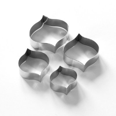 Tile- Interlocking Simple Arabesque Tile Cutter Set (Lindy's)