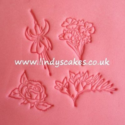 Flowers 2 Embossing Stamp Set (FMM)