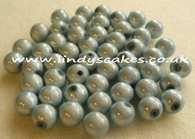 Blue - Dusty Blue Miracle Beads (8mm) SKU17622164