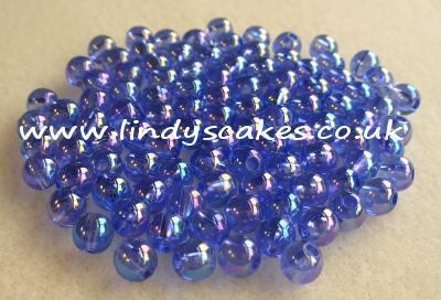 Blue Iridescent Beads (6mm) SKU17624331