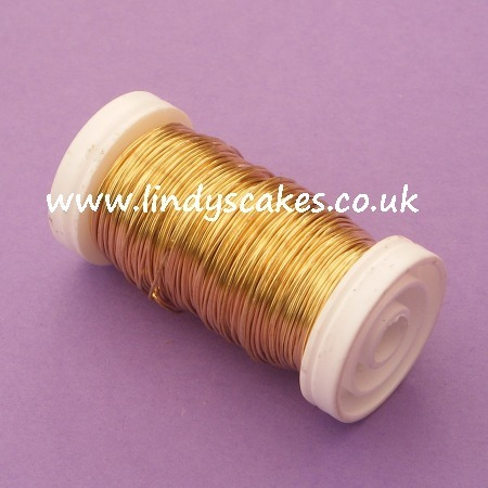 Gold Metallic reel wire 0.5mm (100g) SKU1767413