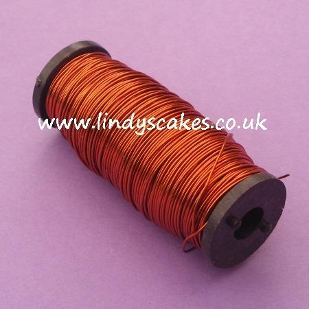 Copper Metallic Reel Wire 0.5mm (100g) SKU1767439
