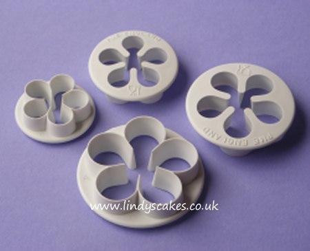 Five Petal Cutters - Set of 4 (PME) SKU18056