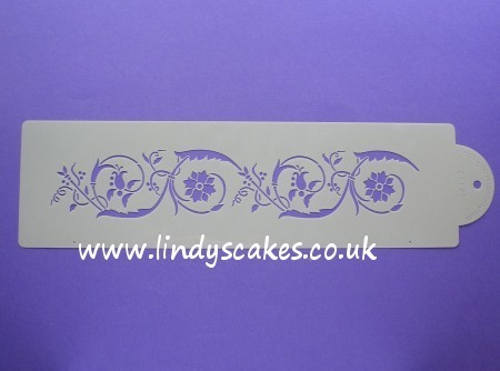 Flower Scroll Stencil (C119) SKU17998