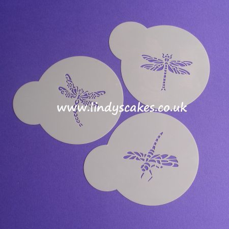 Dragonfly Stencils - Set of 3 Mini (LC115) SKU18841