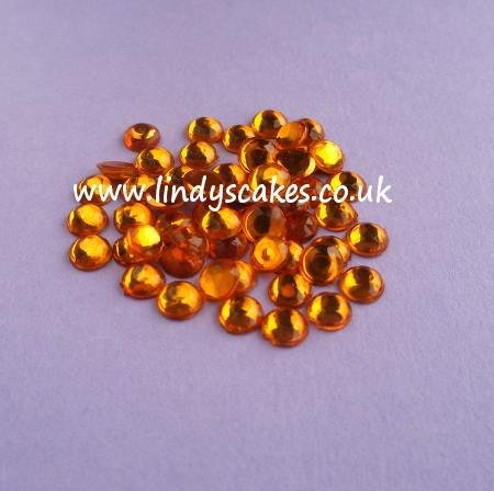 Brown - Topaz Stick-on-Stones (5mm) SKU182135