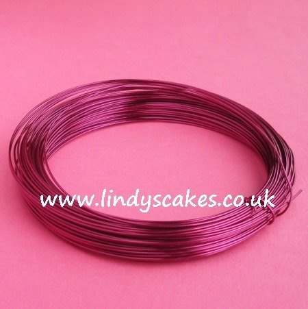 Purple - Magenta Coloured Craft Wire (0.5mm) SKU182561111111111