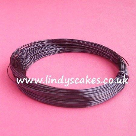 Purple - Mauve/Black Coloured Craft Wire (0.5mm) SKU18256111111111111