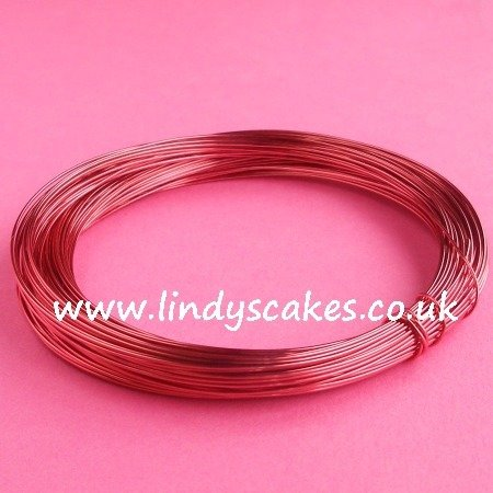 Pink - Salmon (Supa) Coloured Craft Wire (0.5mm) SKU182561111111111111111111